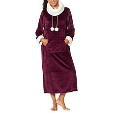 """""""As Is"""" Soft & Cozy Super Soft Style & Comfort Pullover Robe"""