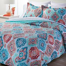 """""""As Is"""" South Street Loft Quilt and Sheet Set with Extra Pillowcases"""