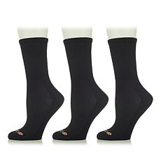 """As Is"" Sporto® 3-pack Crew Socks"