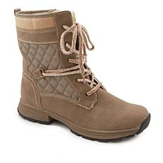 """As Is"" Sporto® Carly Water-Resistant Combat Boot"