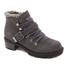 """""""As Is"""" Sporto® Katie Waterproof Suede Lace-Up Boot"""