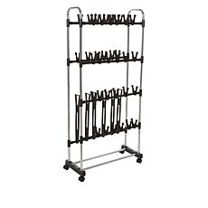 """As Is"" StoreSmith Shoe and Boot Rack"
