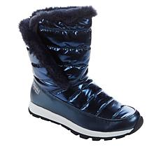 """As Is"" Tony Little Cheeks® Fit Body Water-Repellent Puffer Boot"