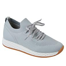 """As Is"" Urban Sport by J/Slides Talia Stretch Knit Sneaker"