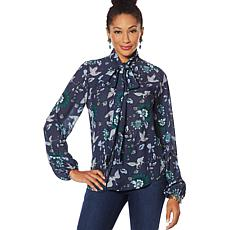 """""""As Is"""" Vanessa Williams Boss Lady Blouse"""