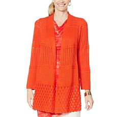 """""""As Is"""" Vanessa Williams Knit Topper"""