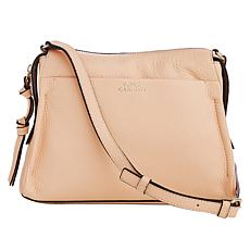 """As Is"" Vince Camuto Coey Leather Crossbody"