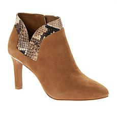 """""""As Is"""" Vince Camuto Larmana Leather Side-Zip Bootie"""