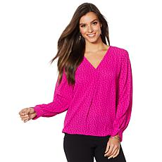 """As Is"" Vince Camuto Soft Texture Blouse"