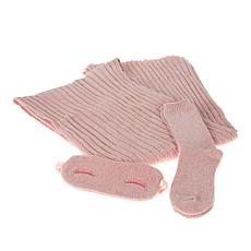 """As Is"" Warm & Cozy Cuddle Up 3-piece Gift Set"