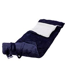 """As Is"" Warm & Cozy Plush Sleeping Bag"