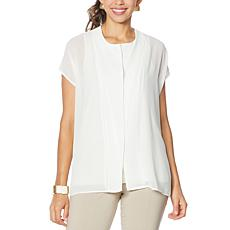 """As Is"" WynneLayers Chiffon Blouse"