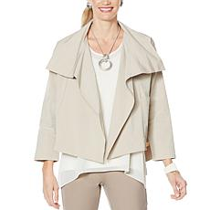 """As Is"" WynneLayers Stretch Tech Boxy Jacket"