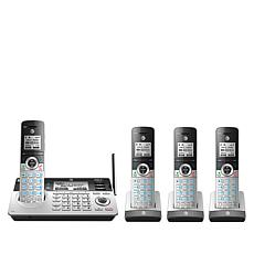 AT&T 4-Handset Cordless Phone System with Smart Call Block