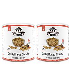 Augason Farms 24 Servings Honey & Oats Granola