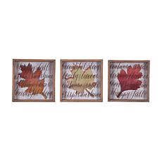 Autumn Leaves Wall Art, S-3