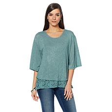 B Collection by Bobeau Layered Top
