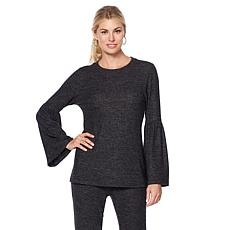 B Colllection by Bobeau Bell-Sleeve Knit Top
