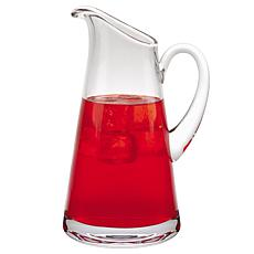 Badash Hampton Mouth-Blown Lead-Free Crystal Pitcher 54 oz.