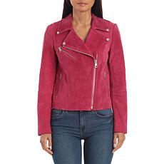 Bagatelle NYC Genuine Suede Biker Jacket