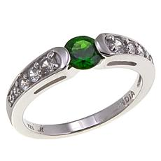 Bali Designs 0.76ctw Chrome Diopside and Zircon  Ring