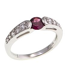 Bali Designs 0.86ctw Rhodolite and Zircon  Ring