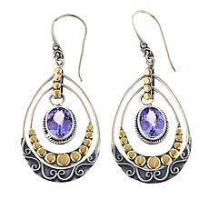 Bali RoManse 3.2ctw Tanzanite Chandelier Earrings