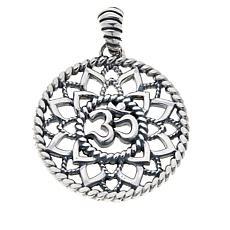 Bali RoManse Sterling Silver Om Pendant