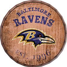 """Baltimore Ravens Established Date 24"""" Barrel Top"""