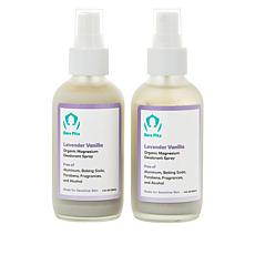 Bare Pits 2-pack Lavender Vanilla Aluminum-Free Deodorant Spray