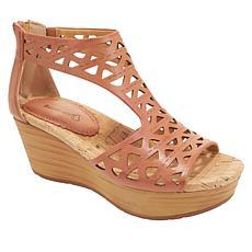 Baretraps® Miriam Laser-Cut Wedge Platform Sandal