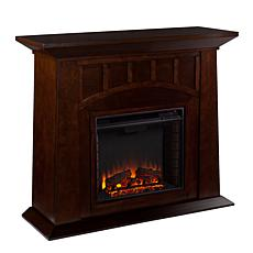 Barrett Electric Fireplace - Espresso