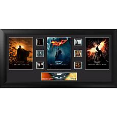 Batman Dark Knight Trilogy 6x Film Clip Framed FilmCells Presentation