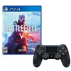 """Battlefield V"" Game for PS4 with Dualshock Wireless Controller"