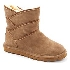 BEARPAW® Angela Suede Sheepskin Boot with NeverWet™