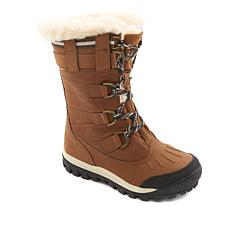 BEARPAW® Desdemona Leather Lace-Up Waterproof Boot