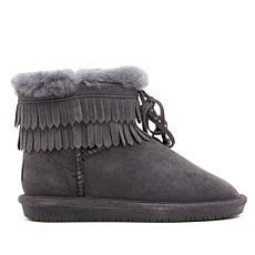 BEARPAW® Honey Suede Fringe Boot NeverWet™