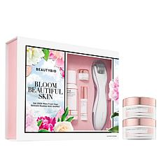 BeautyBio GloPRO Tool with Skincare Minis & Cleansing Pads