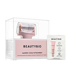 BeautyBio Rose Gold GloPRO Scalp MicroTip w/Serum Sample Auto-Ship®