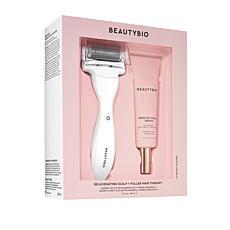 BeautyBio White GloPRO Scalp Tool and Serum System