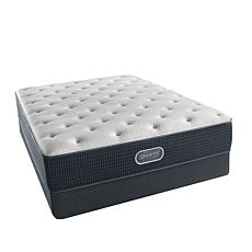BeautyRest® Silver Summertime Plush Mattress Set - K