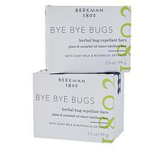 Beekman 1802 2-pack Bye Bye Bugs Repellant Bar Soap