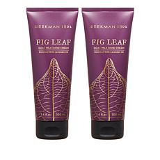 Beekman 1802 Fig Leaf Goat Milk Hand Cream Duo