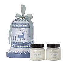 Beekman 1802 Goat Milk Whipped Body Cream 2pc Set w/ Tin - Pear