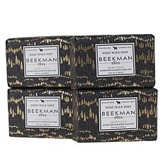 Beekman 1802 Snow Forest 4-piece Goat Milk Bar Soap Set