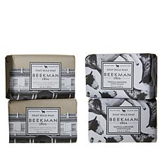 Beekman 1802 Vanilla/Oats 4-piece Bar Soap Combo Pack Auto-Ship®