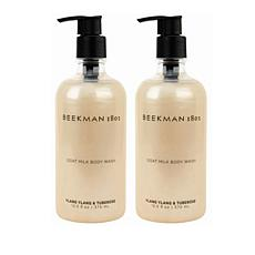Beekman 1802 Ylang Ylang & Tuberose Goat Milk Body Wash Duo