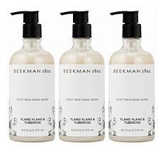 Beekman 1802 Ylang Ylang & Tuberose Goat Milk Hand & Body Wash Trio AS