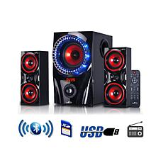 beFree Sound 2.1ch Bluetooth Surround Sound Wired Speaker System
