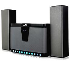 beFree Sound 2.1ch Multimedia Wired Speaker System w/Reactive LEDs